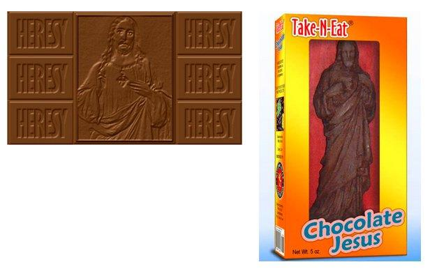 chocolate jesuses