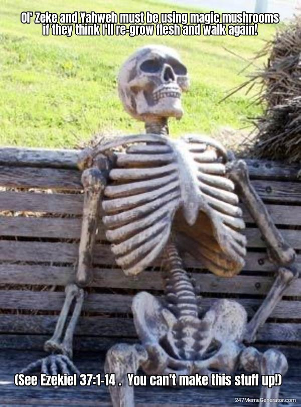 Democrats Bone,Dem Bones, Dem Dry Bones...
