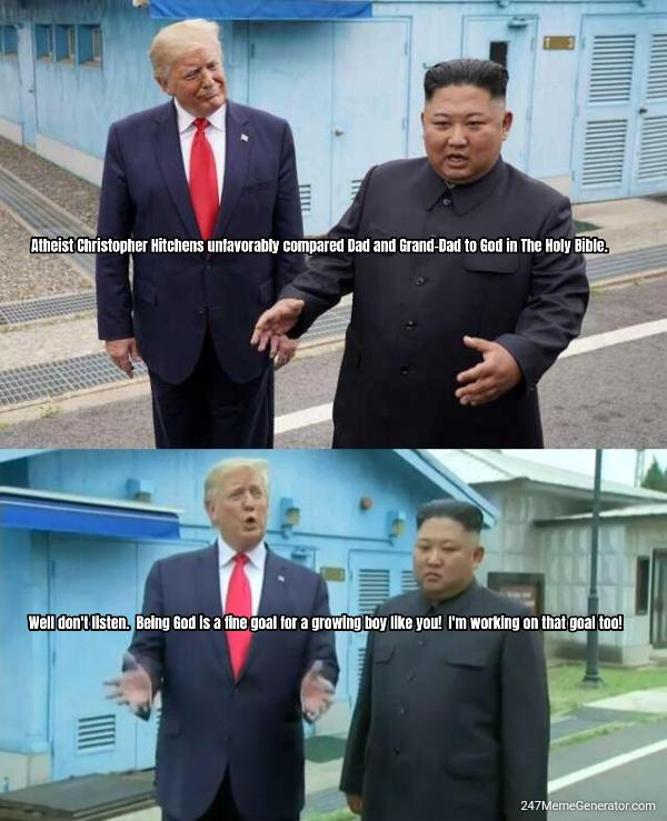 Kim and Trump: The Men Who Would Be Gods
