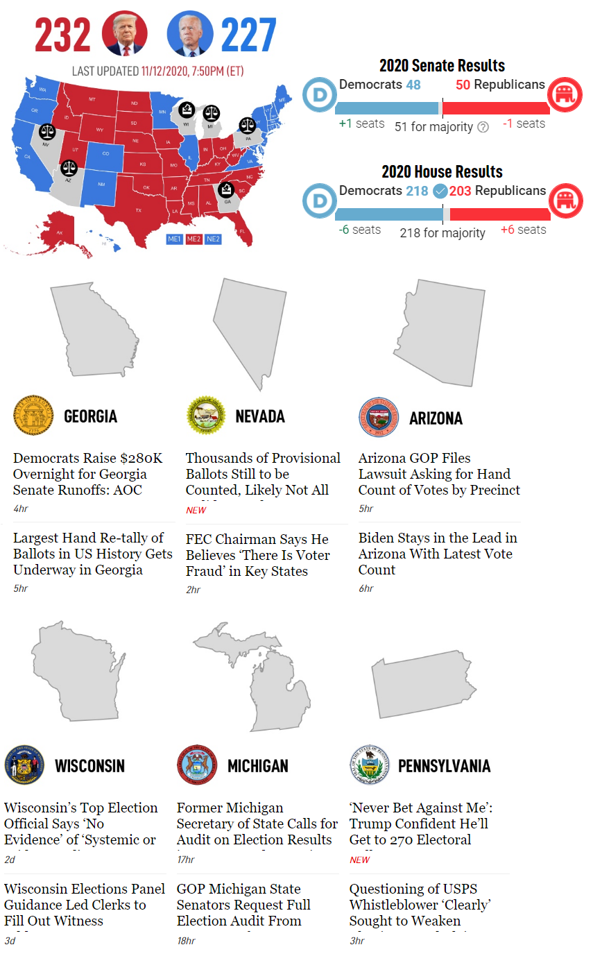 Epoch Times electoral map bias
