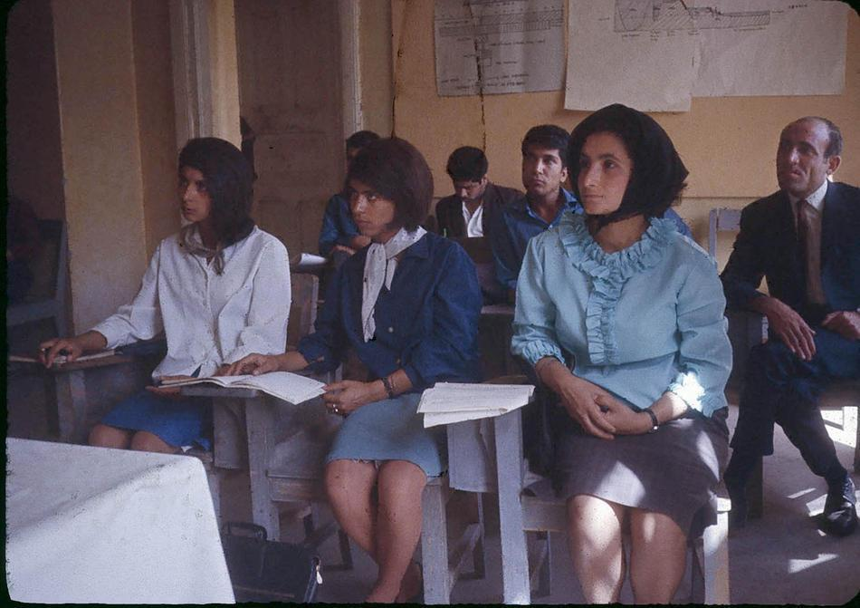 Afghan Students 1960's