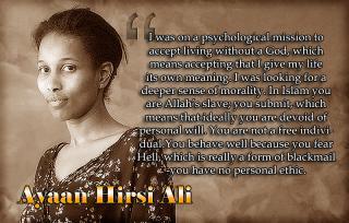 Ayaan Hirsi Ali - no ethic