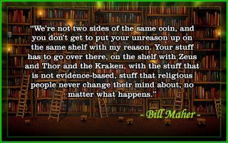 Bill Maher - Bookshelf