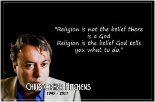 Christopher Hitch - religion what to do