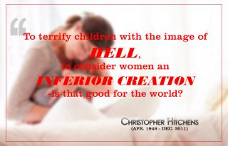 Christopher Hitchens - Terrify with hell