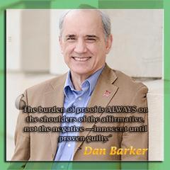 Dan Barker - Burden of proof