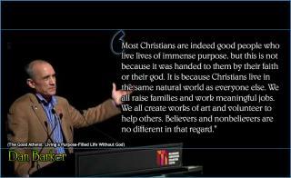 Dan Barker - Christian good people