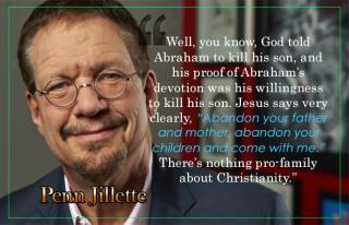 Penn Jillette - God Family