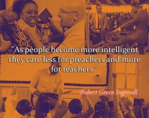 Robert G. Ingersoll - Teachers