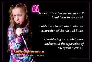 Saffron Herndon - Teacher fact